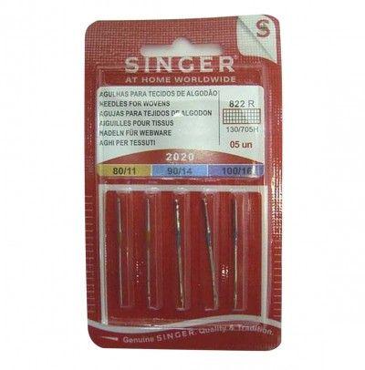 SINGER Aiguilles 2020 BL822 SINGER 80-100 X5 Aiguilles familiales 7115