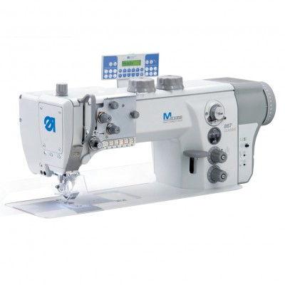 Machine à coudre industrielle 2-aiguille, triple entrainement DURKOPP ADLER 867-290142-M
