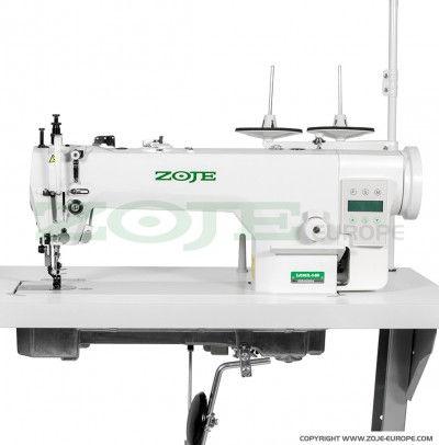 Machine à coudre industrielle double entrainement pour tapisserie ZOJE ZJ0303L-3-BD