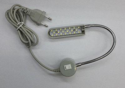 Lampe LED aimanté pour machine à coudre